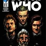 four doctors - titan comics - doctor who brasil 08