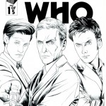 four doctors - titan comics - doctor who brasil 11