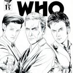 four doctors - titan comics - doctor who brasil 11