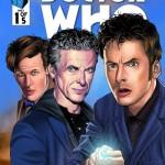four doctors - titan comics - doctor who brasil 18