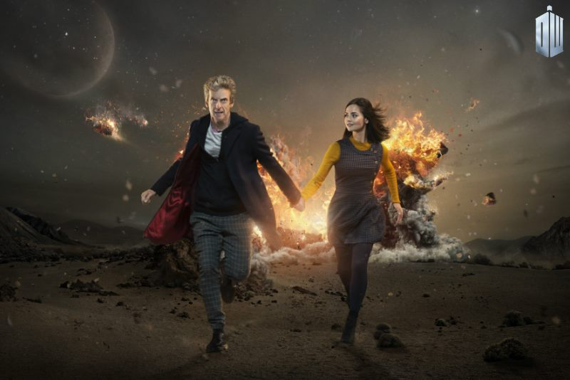 peter capaldi jenna coleman season 9 doctor who brasil