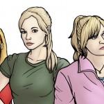 Heather McCrimmon-Jenny-e-Jackie Tyler-Doctor-Who-Paul-Hanley