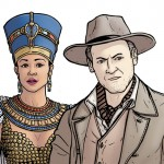 Nefertiti-e-John Riddell-Doctor-Who-Paul-Hanley