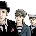 Oliver-Polly-e-Ben-Doctor-Who-Paul-Hanley