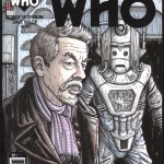 War-Doctor-Cyberman-Sketch-Cover-Titan-Comics-Doctor-Who-Paul-Hanley