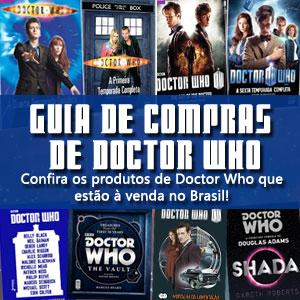 Guia de Compras de Produtos de Doctor Who