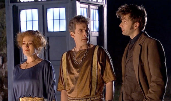 peter capaldi david tennant fires of pompeii doctor who brasil