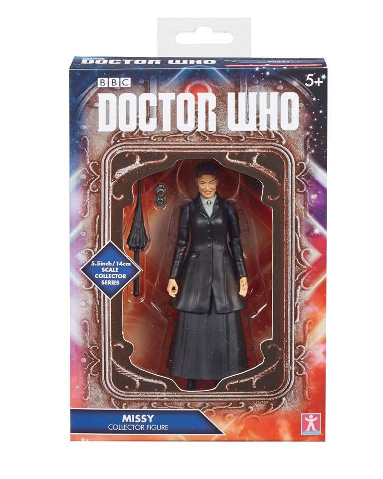 Action Figure Missy Doctor Who Roupa Preta Caixa