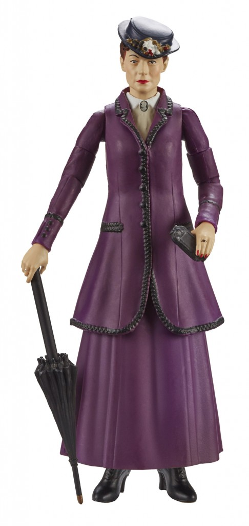 Action Figure Missy Doctor Who Roupa Roxa