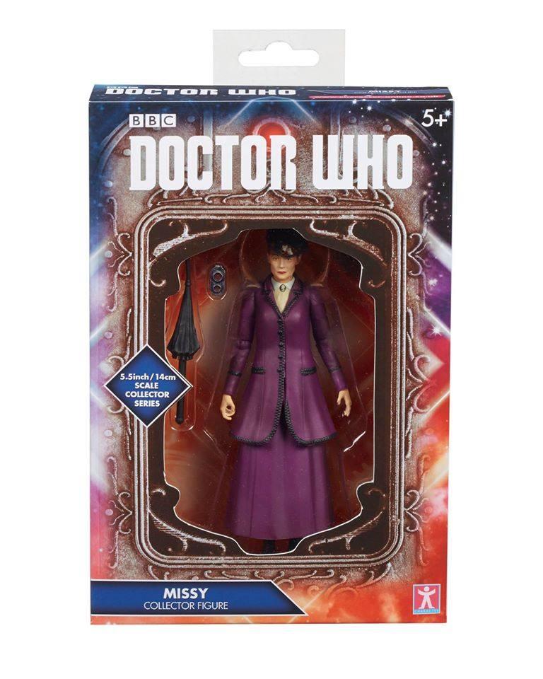 Action Figure Missy Doctor Who Roupa Roxa Caixa