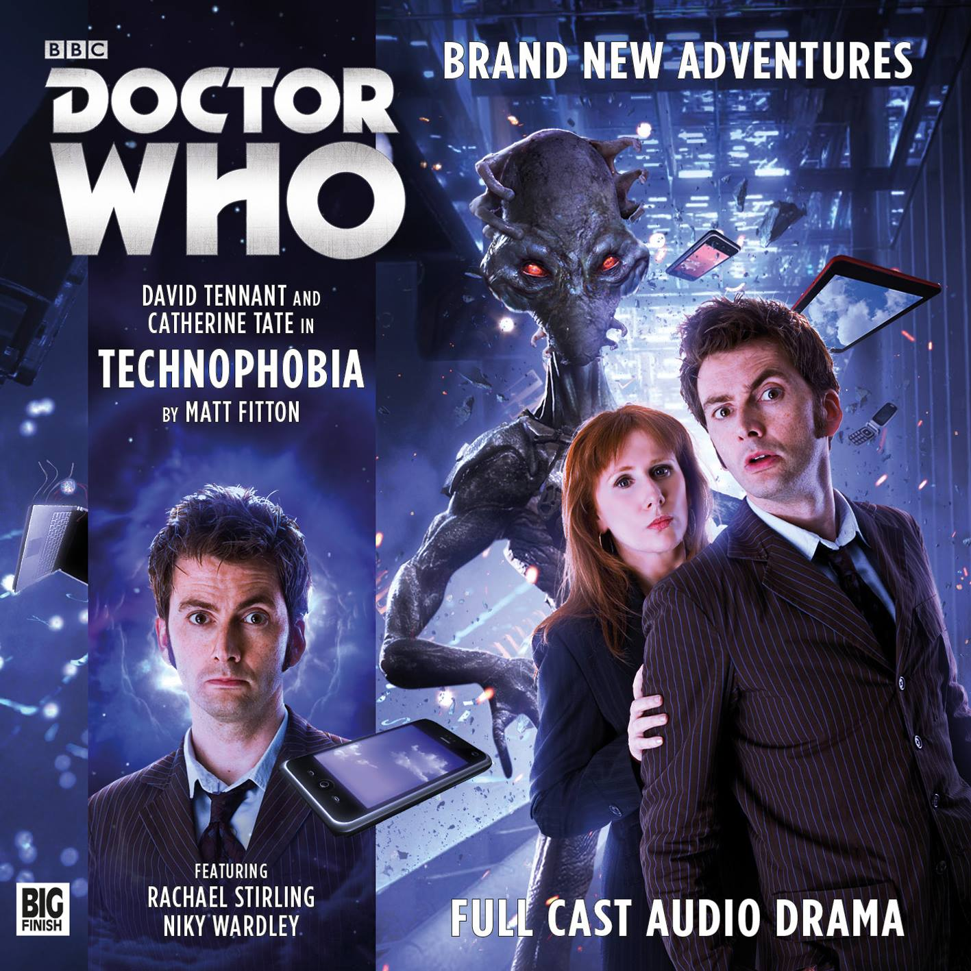 Audio-Drama-David-Tennant-Catherine-Tate-Technophobia-Doctor-Who-Brasil