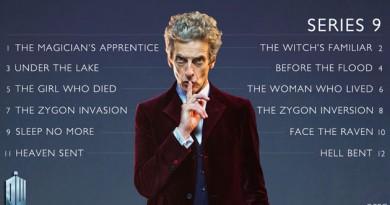 9ª temporada de Doctor Who: lista de nomes dos episódios