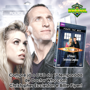 DVD 1 temporada Doctor Who