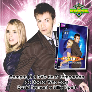 DVD 2 temporada Doctor Who