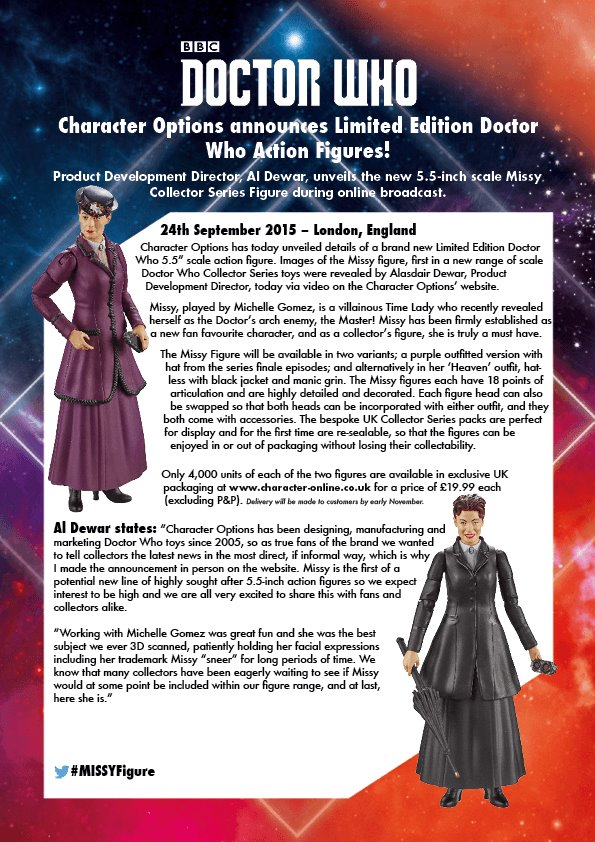 Action Figure Missy Doctor Who