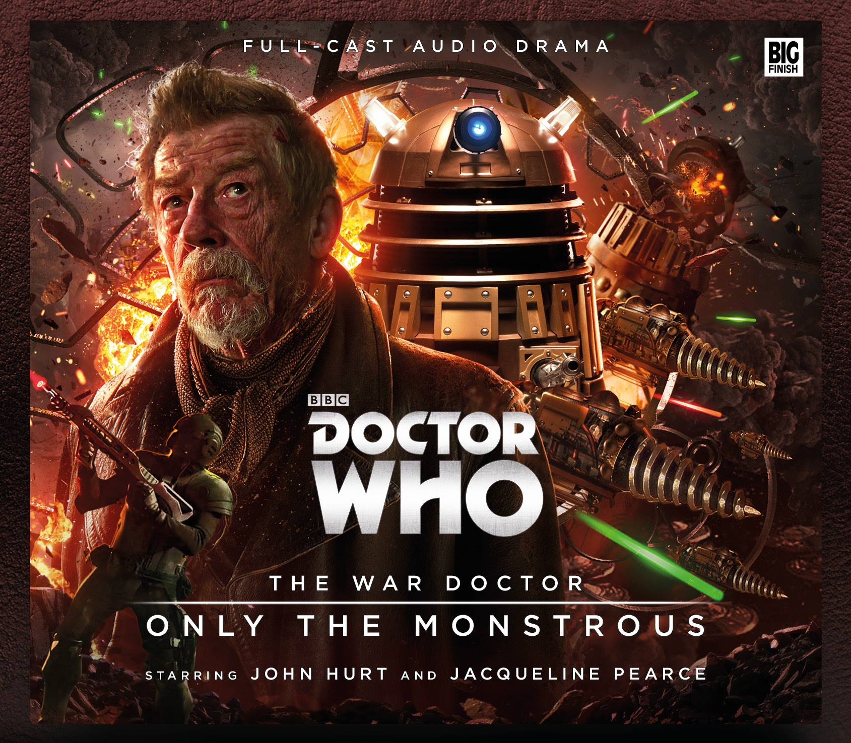 Big-Finish-The-War-Doctor-1-Only-the-Monstrous-Doctor-Who-Brasil