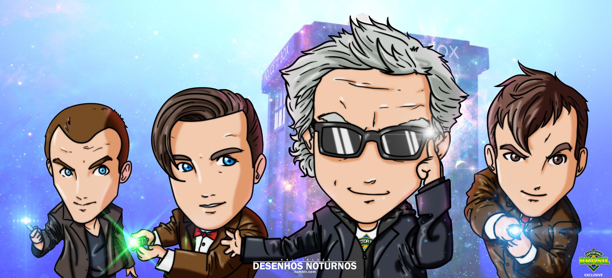 Doctor-Who-Brasil-Kell-Alves-Desenhos-Noturnos