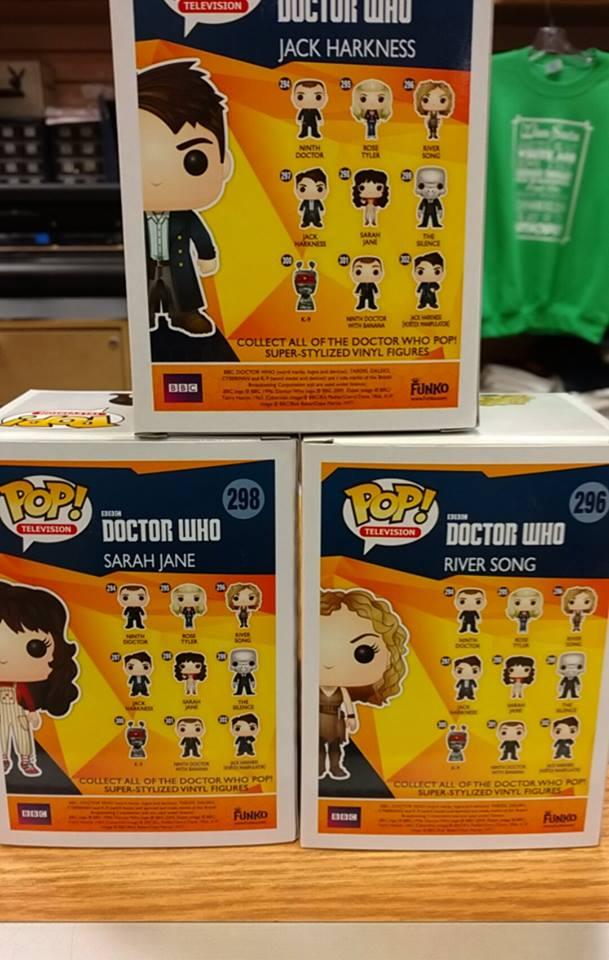 funko doctor who segunda wave 01
