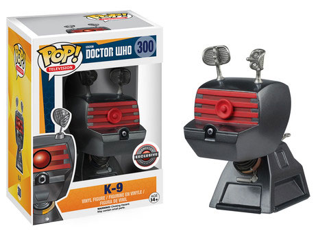 Funko Pop - Doctor Who Brasil - K9
