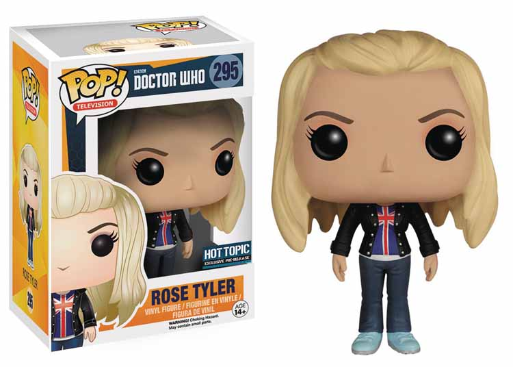 Funko Pop - Doctor Who Brasil - Rose Tyler
