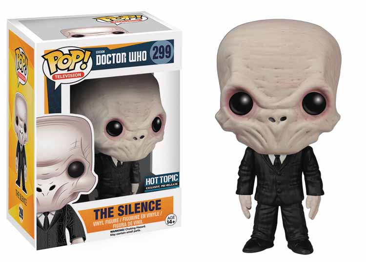 Funko Pop - Doctor Who Brasil - Silencio