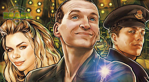 Titan Comics: confira o preview de The 9th Doctor ilustrado por Adriana Melo!