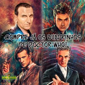 Compre os quadrinhos de Doctor Who