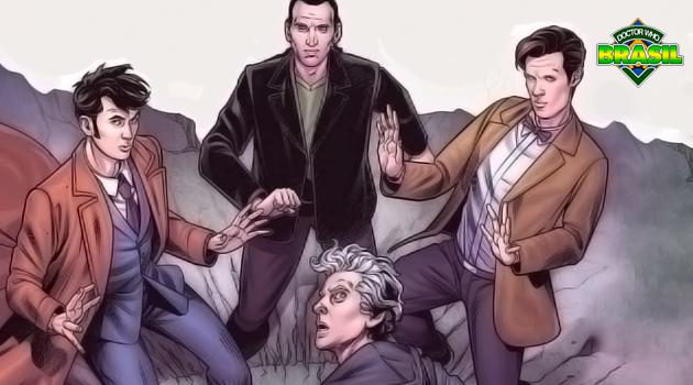 [Titan Comics] Doutores da série moderna se encontram em novo crossover The Lost Dimension!
