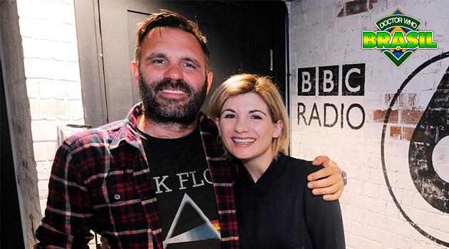 Entrevista com Jodie Whittaker na BBC Radio 6!