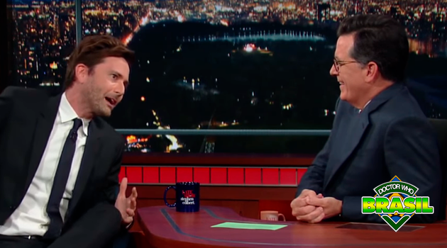 Vídeo: David Tennant no The Late Show with Stephen Colbert!