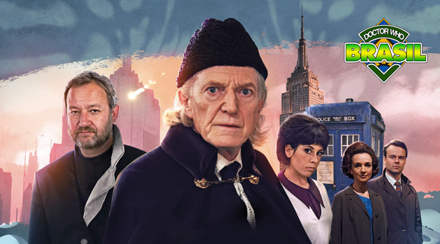 "David Bradley assume como 1º Doutor em ""The First Doctor Adventures"" na Big Finish!"