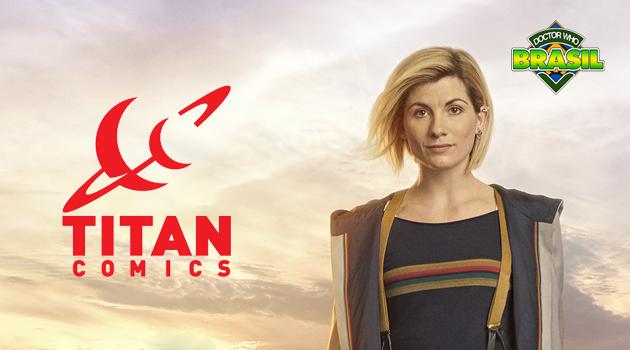Quadrinhos da 13ª Doutora da Titan Comics tem equipe inteiramente feminina!