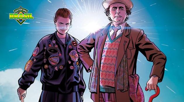 [Quadrinhos] 7º Doutor e Ace ganham mini-série da Titan Comics!
